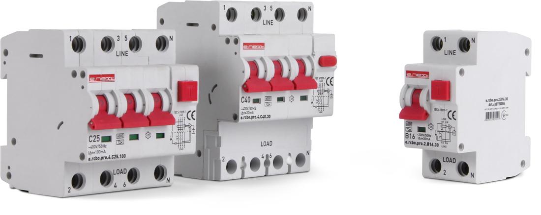 Новая линейка выключателей дифференциального тока с функцией защиты от сверхтока — e.rcbo.pro