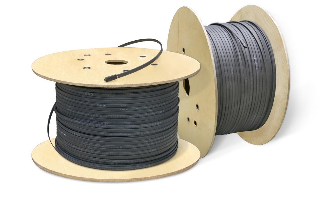 Поповнення продуктової лінійки: саморегульований нагрівальний кабель потужністю 40 Вт/м!